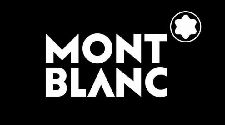 Mont Blanc Logo weiß auf schwarz